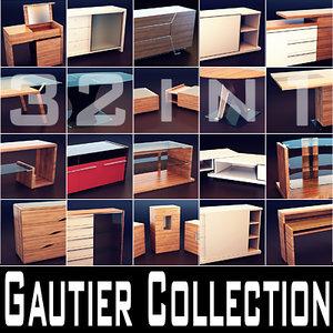 gautier furniture 3d max