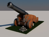medieval cannon max