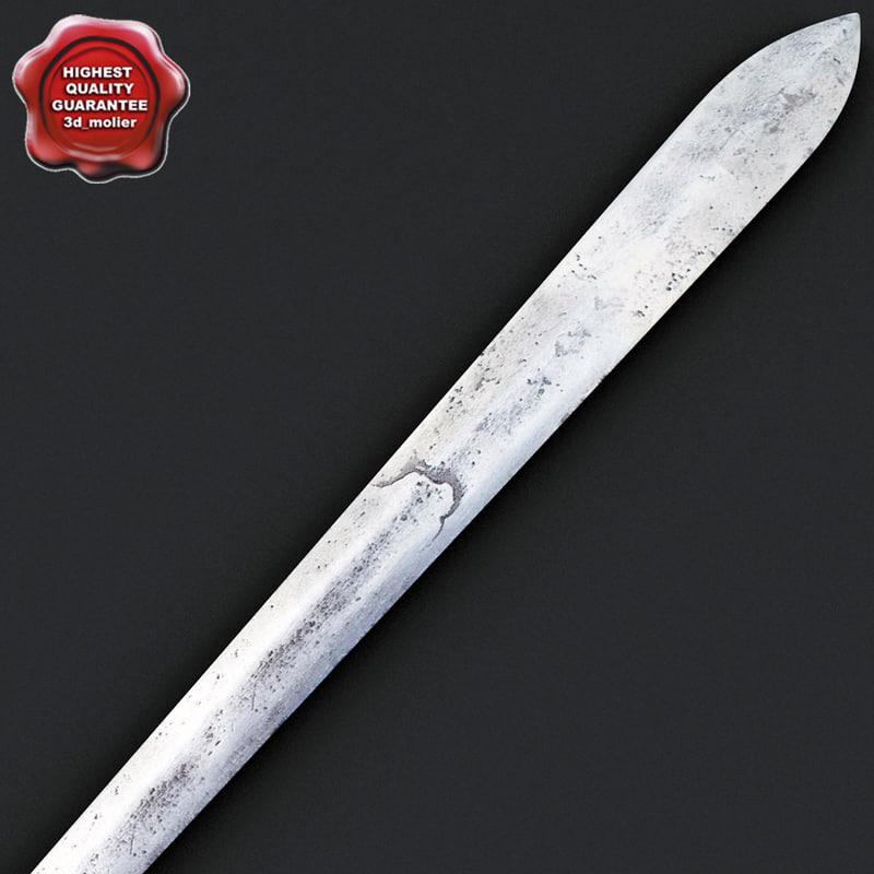 african sword v6 3d max