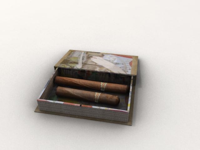 book box cigars obj