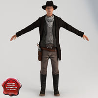 cowboy t-pose max