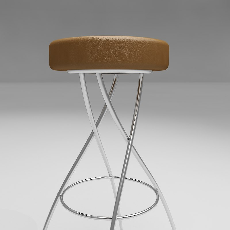 3dsmax jay bar stool