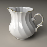 lightwave milk pot porcelain