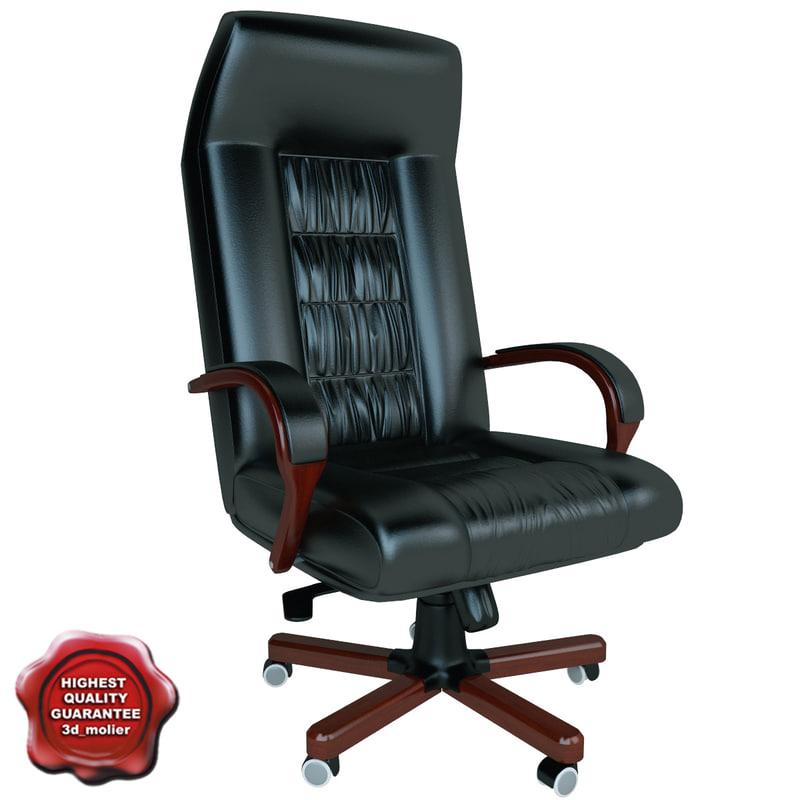 maya office chair v7