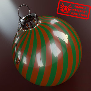 christmas tree ornament 2010 3ds