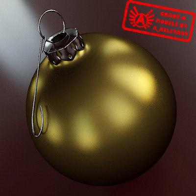 christmas tree ornament 2010 max