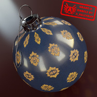 Ornament 27 - High Quality Christmas Ornament - 3ds max 2010 - Mental Ray