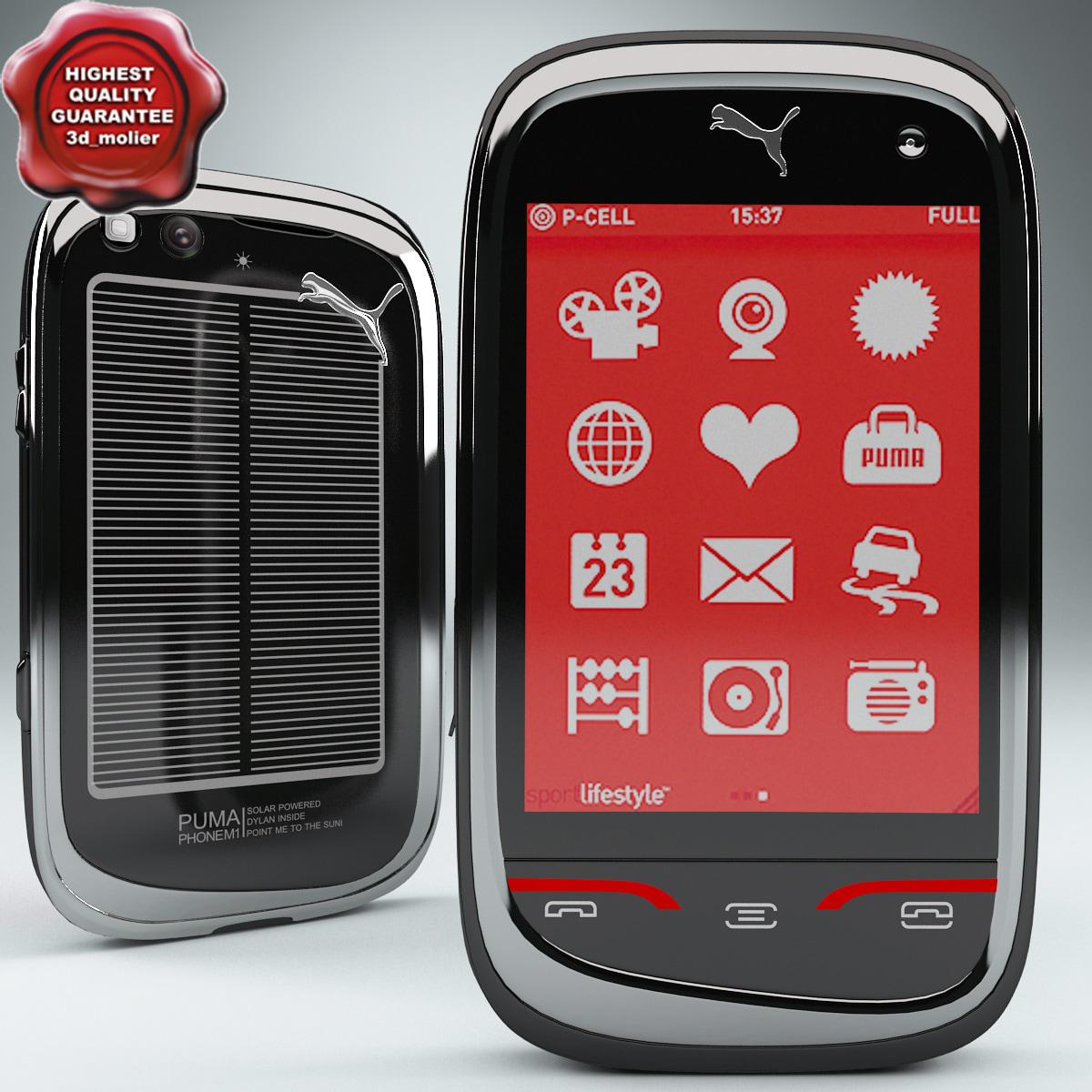 3d puma phone