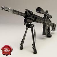 The DPMS LR-308 Semi Auto Sniper System