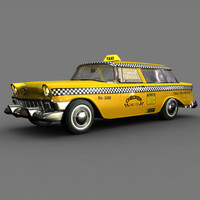 Chevy Nomad Yellow Cab