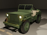 3ds max willys jeep