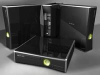3d xbox 360 model