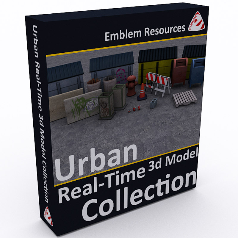 3d model real-time urban