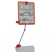 paper holder 3d max