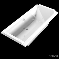 duravit starck 700031 bath bathtub tub modern rectangle