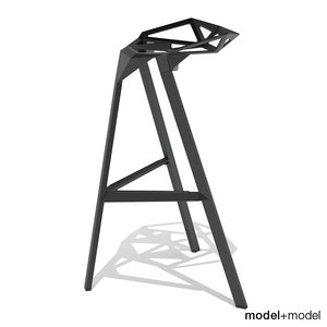 3d magis stool grcic chair model