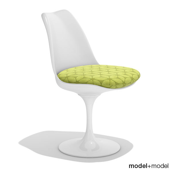 tulip chair knoll 3d model