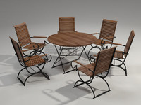 Garden Furniture Set - 6 person