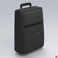 3ds max trolley bag