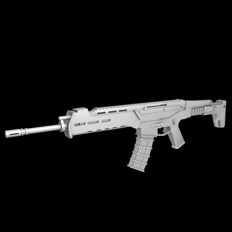 3ds assault rifle