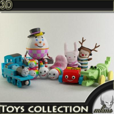 3ds max toys kids
