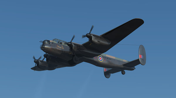 3d avro lancaster mk iii model