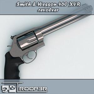 460 xvr s revolver 3d ma