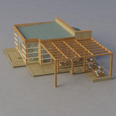 maya multi purpose building