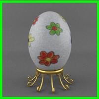 1 easter egg 3d model