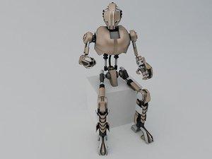 robot tr200 3d model