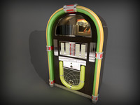 jukebox juke box 3d 3ds