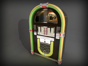 jukebox juke box 3d 3ds