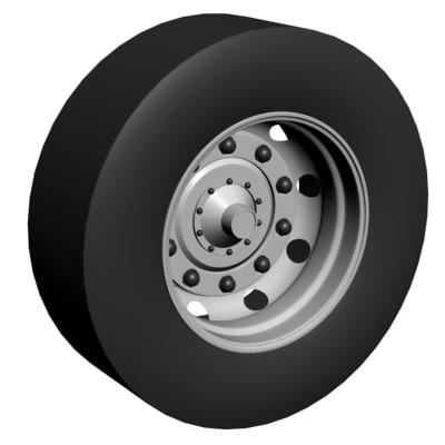 truck tyre 3ds