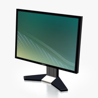 3ds max monitor dell black