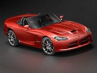 dodge viper 2008 3d model