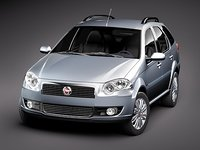 3d fiat new palio weekend