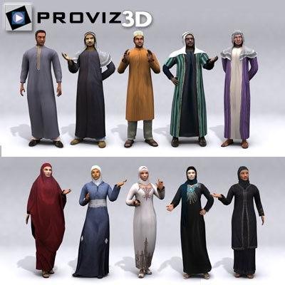 arabic people max