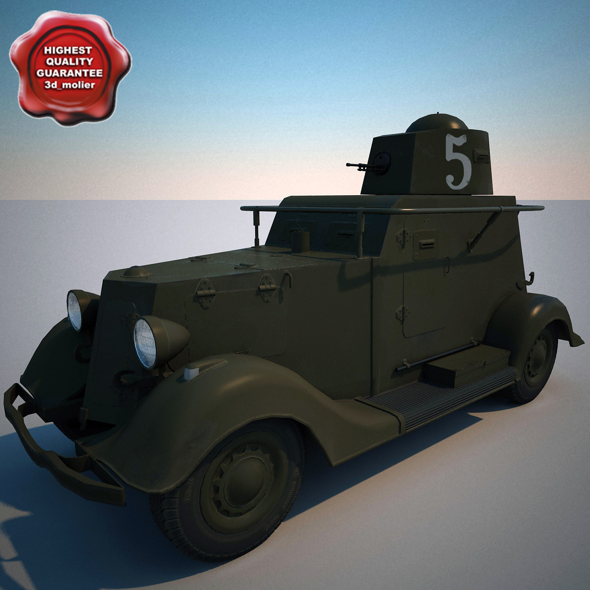 lightwave armored car ba-20m v1