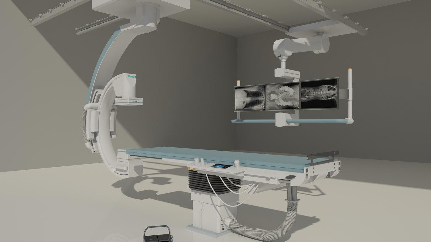 3d model revit medical equipment siemens