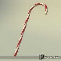 free max mode christmas cane