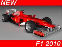 formula 1 f10 3d max