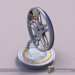 film roll 3d max