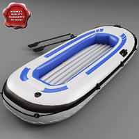 3ds max inflatable boat v3