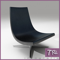 3d model living chair tabasco