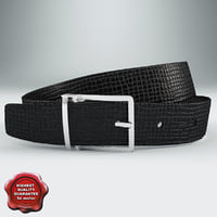 leather belt v2 c4d