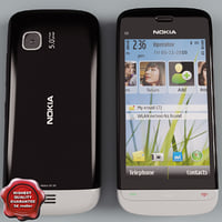 nokia c5-03 black-grey 3ds