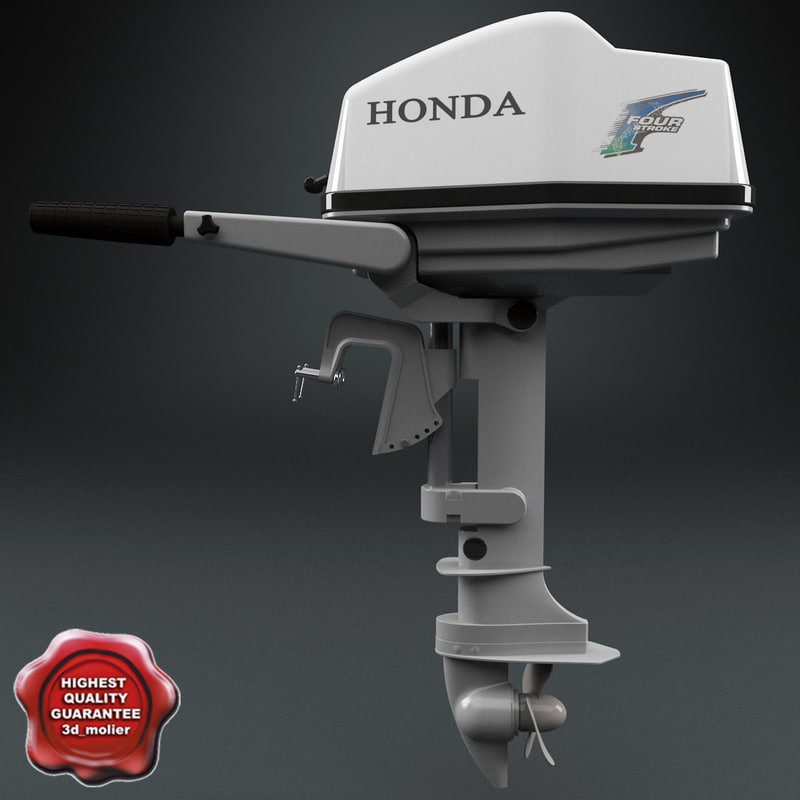 3d outboard engine honda
