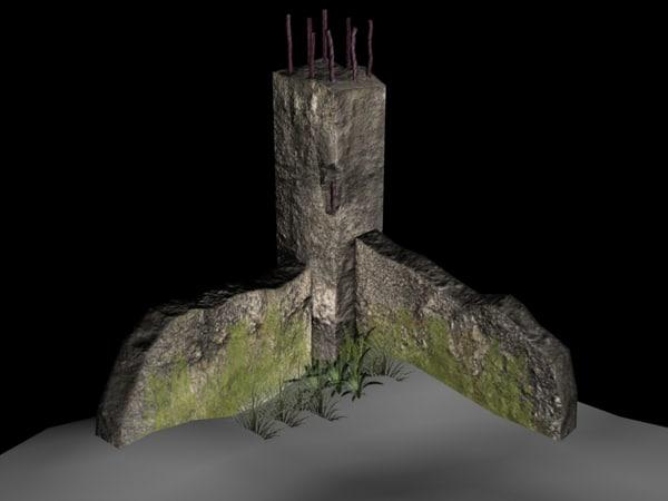 column wall max free