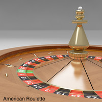Roulette Wheel 2 (American and European)