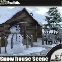 Snow house Scene